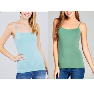 Tops - 💥NEW💥 Sage Green and Dusty Blue Tank Top